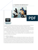 Seminar Report on Haptic