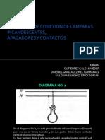 DIAGRAMAS DE CONEXION DE LAMPARAS INCANDESCENTES,.pptx