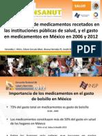 Surtimiento de Recetas y Gasto en Medicamentos 2006 - 2012