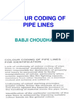 Colour Coding of Pipelines