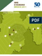 IDH Estado de Mexico 2011-2