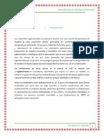 Introducción de aglomerantes (1)