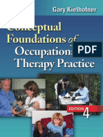 Conceptual Foundations of OccupationalTherapy Practice