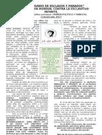 51.- Comunicado Esclavitud Infantil 2013