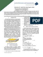 Parameter Amelioration of L- band Feeler using Negative Media