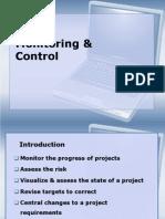 Monitoring & Control SPM