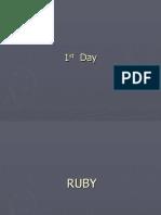 Rubyonrails(1,2) Imp