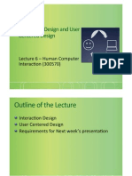 HCI Lecture 6