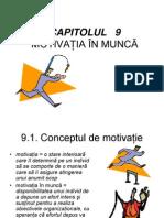 Motivatia in Munca