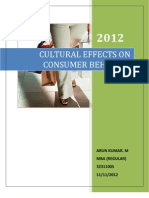 Cultural Effects !