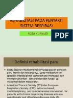 Rehabilitasi Pada Penyakit Sistem Respirasi