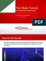FSAE Flex Body Tutorial (MSC ADAMS)