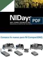 Conozca Lo Nuevo Para Compactdaq