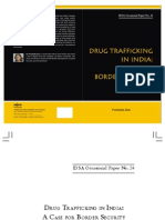 Drug Trafficking in India