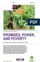 Promises, Power, and Poverty: Corporate land deals and rural women in Africa