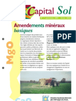 Amendements minéraux