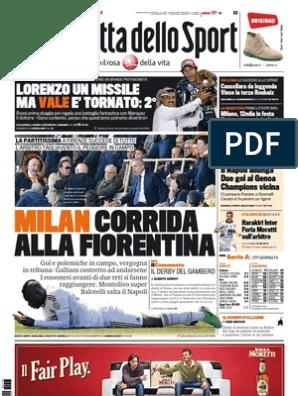 La Gazzetta Dello Sport 08 04 2013 Twl