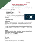 Notification AIATSL Customer Ram Service Agents