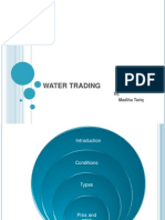 Water Trading