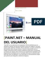 Manual Paint.net