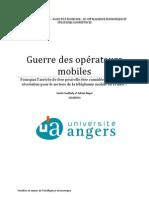 La guerre des opérateurs mobiles