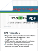 Strategy for CAT Preparation by Spanedea