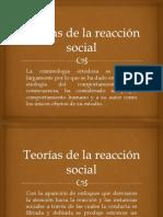 Teorías de la reacción social