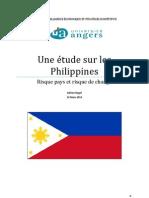 Etude Du Risque Pays_cas Des Philippines