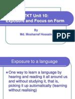 TKT unit 10