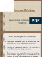 Introduction to Employment Relationships