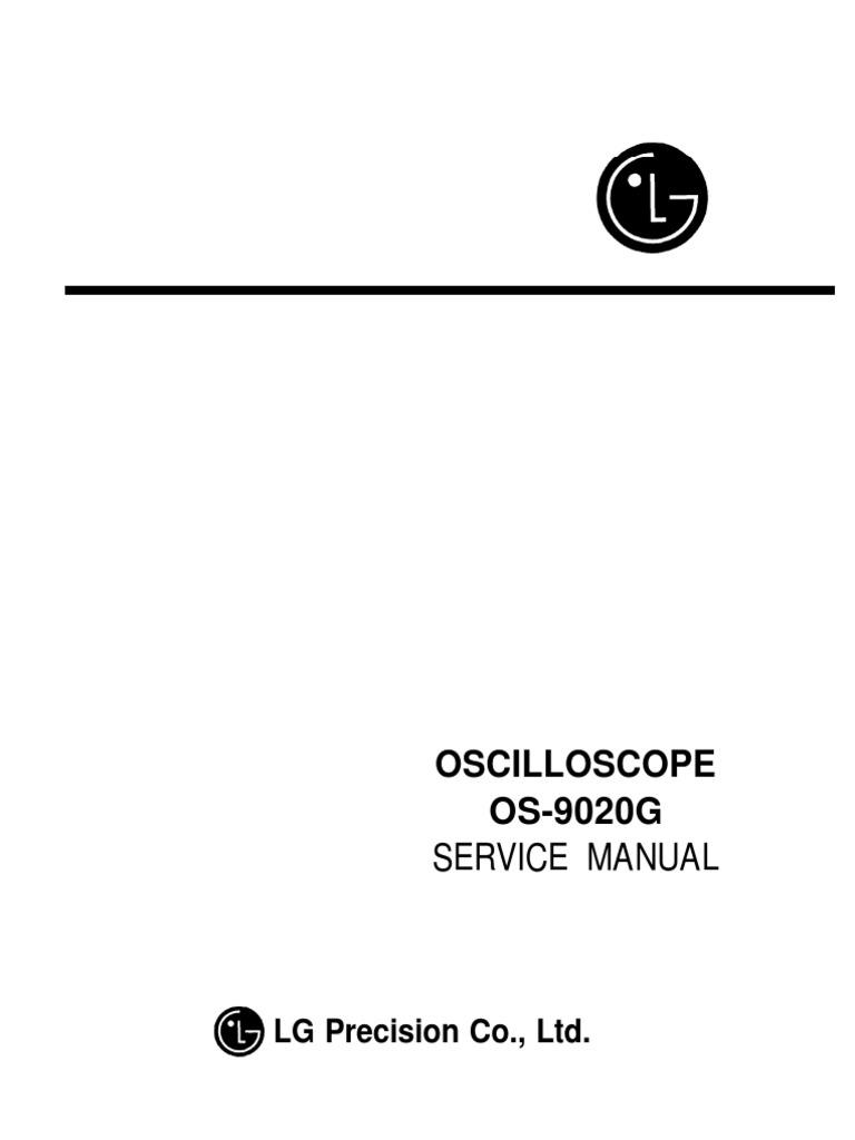 lg os 5020g oscilloscope service manual amplifier electronic rh scribd com Goldstar Electronics Goldstar Microwave