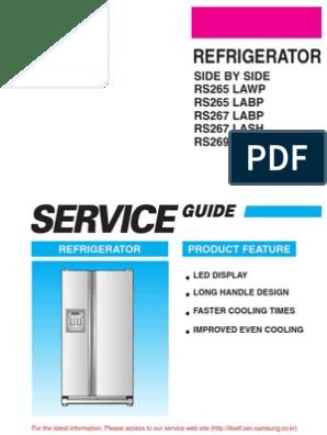 Samsung Side-By-side Refrigerator - Rs265 Series | Refrigerator