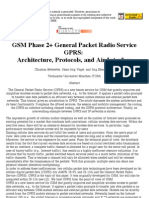 GSM Phase 2+ General Packet Radio Service GPRS_ Architecture, Protocols, And Air Interface