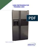 Samsung Refrigerator Training 2003 Trainmnls