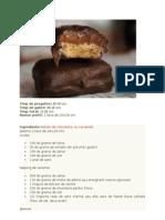 Baton de Ciocolata Cu Caramel