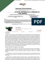 Proposta sequencial de conteúdos para a adaptação ao meio aquático