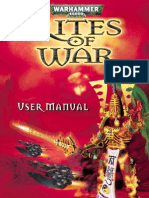 Warhammer 40000 - Rites of War - Manual - PC