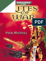 Warhammer 40000 - Rites of War - Manual - PC