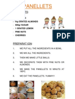 Panellets Recipe