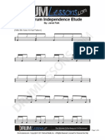 049 Bass Drum Independence Etude