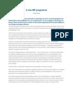 2-A New IMF Programme