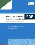 _PAUTA DE CORRECCIÓN PRUEBA DIAGNÓSTICO_lenguaje