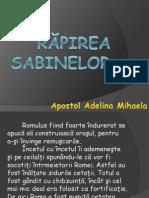 Răpirea Sabinelor 2007