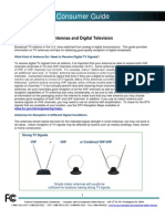 Antennas and Digital Television