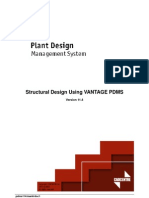 Tutorial VANTAGE PDMS Structural Design