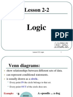 Lecture on Logic