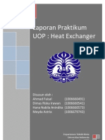 Laporan praktikum Heat Exchanger