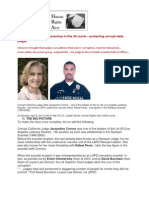 13-04-07 Simulated litigation practices in the US courts – protecting corrupt state judges