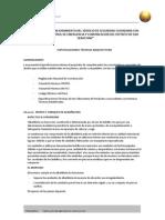 Especificaciones Tecnicas Modulos Arquitectura