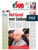 TheSun 2009-03-20 Page01 Red-Faced Over Limbang